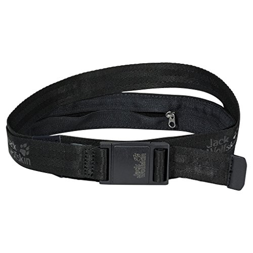 Jack Wolfskin Jungen Gürtel SECRET BELT XT black, One Size -