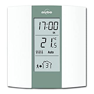 Aube TH136Programmable Thermostat- Cream and Grey