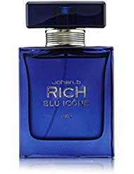 Rich Blu Icone POUR HOMME par Johan B. Paris - 90 ml Eau de Toilette Vaporisateur