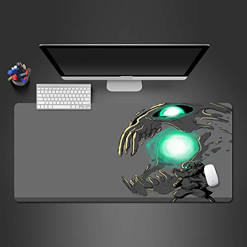 Creative Fun World Clock Mouse pad Lock Edge Washable Gaming Mouse pad Computer Game Accessories Mouse pad Player Gift 900x400x2 -
