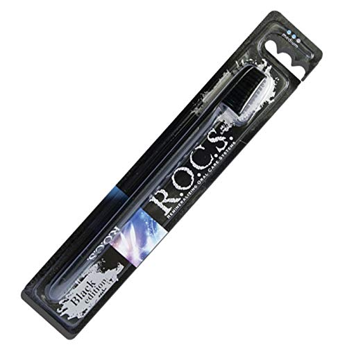 R.O.C.S. Black Edition toothbrush for adults by R.O.C.S.