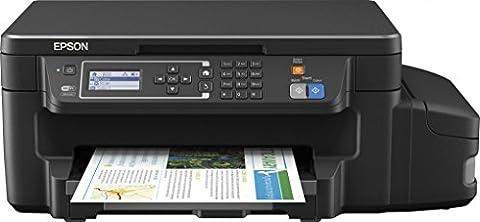 Epson EcoTank et-3600Jet d'encre A4WiFi Noir–Imprimante multifonction jet d'encre, 1200x 2400dpi, A4, couleur, couleur, couleur)