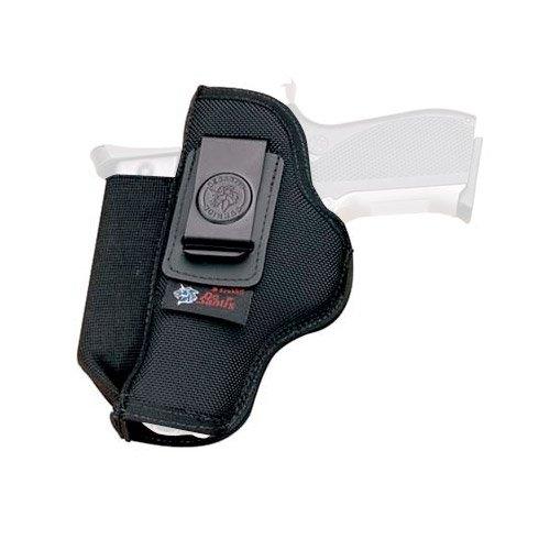 DESANTIS Kingston Autositz Holster für große Rahmen Modell Gun, Schwarz (Autositz-holster)