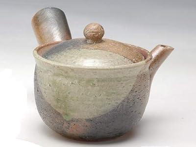 Shigaraki poterie Midori Mamekake Kyusu Théière G5–2709(japan import)