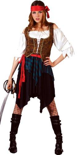 Imagen de pirate  disfraz de pirata del caribe para hombre, talla l ef 2032. l  alternativa