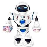 Fantiff Kleinkind-Multifunktions-LED intelligente Roboter-Tanz-Musik scherzt Bildungs-Spielwaren Robotertechnik & Automation