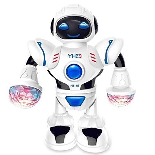 Dieron Kleinkind-Multifunktions-LED intelligente Roboter-Tanz-Musik scherzt Bildungs-Spielwaren - Walking-spielzeug-roboter