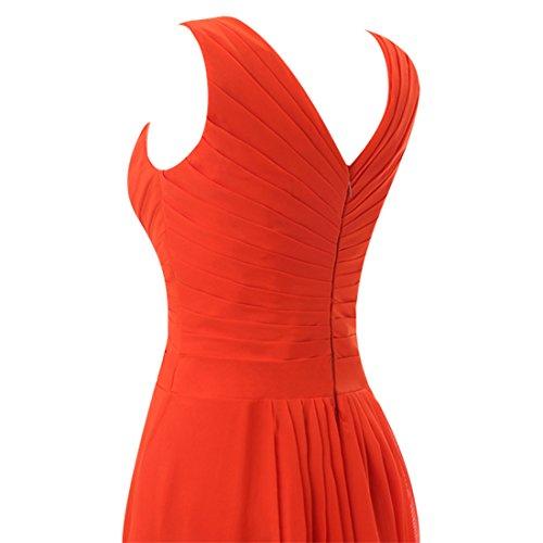 Find Dress Sexy Robe de Soirée Courte Grande Taille pour Cérémonie sans Manches Plissé Robe Demoiselle d'Honneur Mariage Femme Col en V en Mousseline avec Appliques Noir