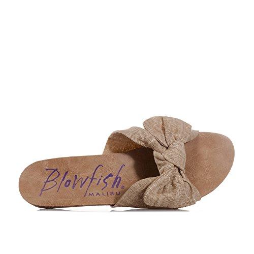 Blowfish Ginah, Sandales  Bout ouvert femme Beige désert