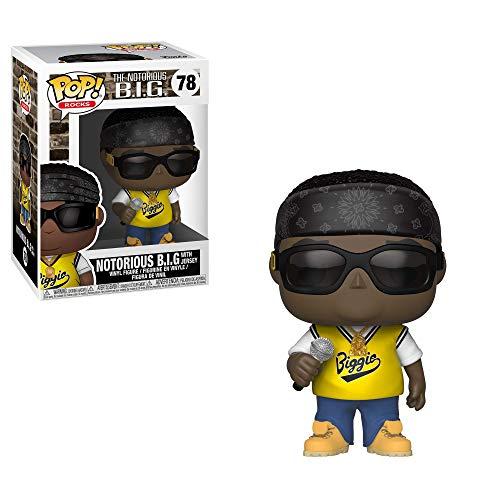 Funko-Pop.Color Rocks Color Notorious B.I.G. Jersey,, 31554