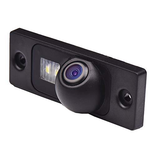 Caméra de recul couleur caméra de stationnement vision nocturne et système de recul étanche pour VW Golf Plus VW Golf MK4 R32 VW Passat 2001-2005 VW T5 Touran 2003-2009 VW CADDY MAXI 4 MOTION
