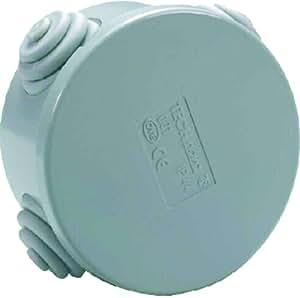 Voltman DIO013015 Boîte ronde étanche Diamètre 80 Hauteur 40 mm IPIP44