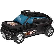 Monster Cars 10005estuche en forma de Auto y ruedas