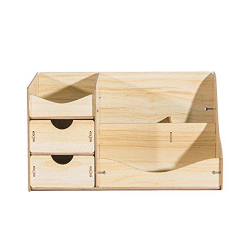 Anguang Kreative Holzschublade Schmuck-Box kosmetische Aufbewahrungsbox Papier Handtuch Stil 2