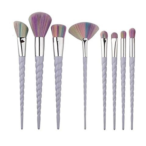 Covermason 8Pcs/Set Make Up Brushes For Foundation Eyebrow Eyeliner Blush Cosmetic Concealer