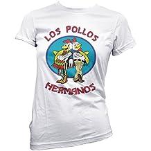 Camiseta Mujer Los Pollos Hermanos camiseta breaking bad 100% algodon LaMAGLIERIA