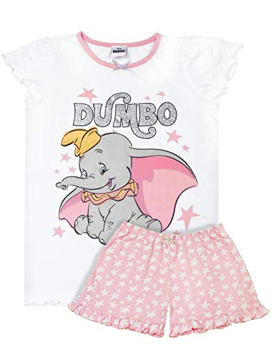Disney Dumbo Pijama Corto para niña Rosa Rosa 3-4 Años