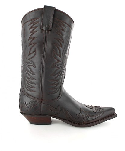 Fashion Boots BU1004 Braun-Brown Damen & Herren Westernstiefel Brown