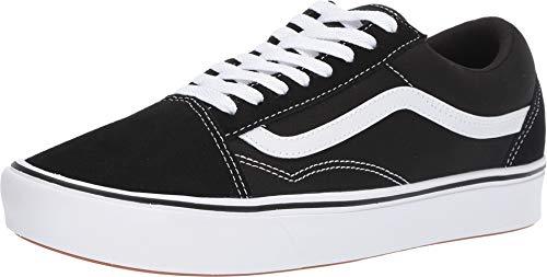 Vans UA ComfyCush Old Skool Black/True White Suede 35 EU