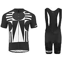 Uglyfrog Bike Wear De Manga Corto MTB Maillot+Bib Pantalones Cortos Ciclismo Hombre Bodies Tights