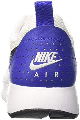 Nike  Air Max Tavas, Sneakers basses homme Multicolore (White / Black / Paramount Blue)
