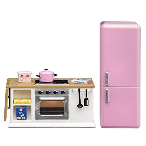 Lundby 60–2027–00Estufa y frigorífico Juego