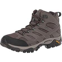 Merrell Men's Moab 2 Mid Gore-Tex' High Rise Hiking Shoes, Grey (Boulder), 8 UK 42 EU