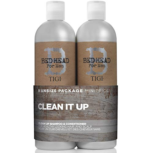 Tigi 0615908950830 Shampoo und Pflegespülung Set, Tween Duo (1 x 750 ml Shampoo + 1 x 750 ml Spülung) (Tigi Bed Head-pomade)