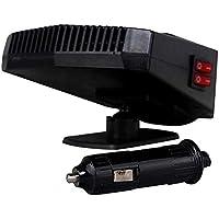 gaeruite 12V-200W Auto Chauffage Ventilateur avec Manche pivotant à 360°,Démousseur de dégivreur Tout-Puissant de réchauffeur Automatique de Voiture de Puissance pour Le Camion Van