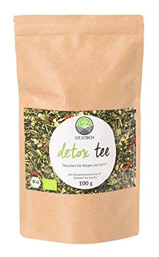 Bio Detox Tee | 14 Tage Kur | 100 Gramm Premium-Qualität mit...