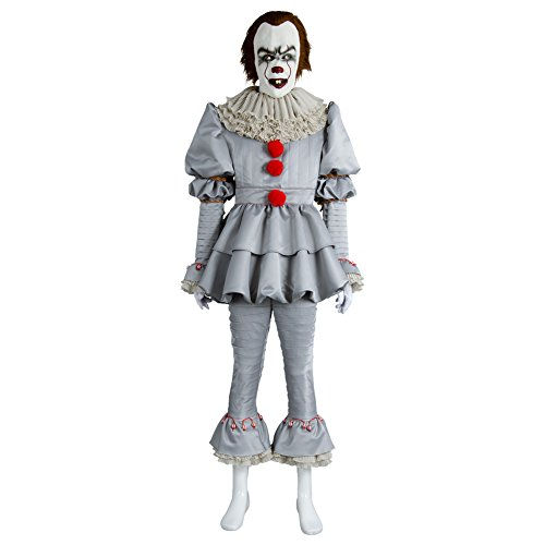 Clowns Outfits - FUMAN Horror Clown Kostüm - Joker