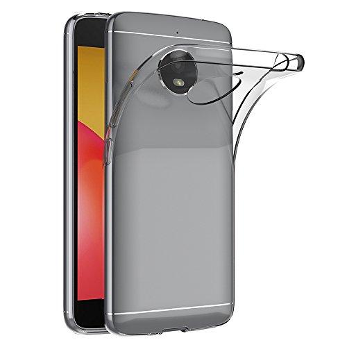 Motorola Moto E4 Plus Hülle, AICEK Transparent Silikon Schutzhülle für Moto E4 Plus Case Crystal Clear Durchsichtige TPU Bumper Lenovo Moto E4 Plus Handyhülle