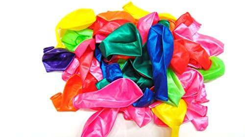 50 Assorted Colour 12 Inch Latex...
