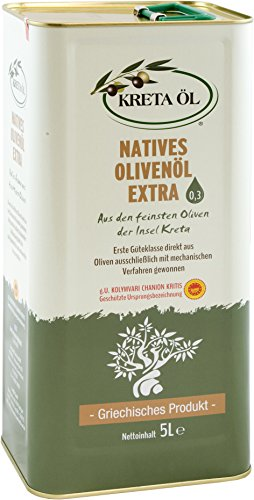 Kreta Öl - extra natives Olivenöl 0,3 % - 5 Liter