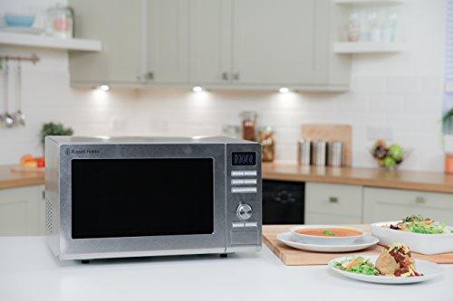 Russell Hobbs RHM2563 25L Digital 900w Solo Microwave Stainless Steel