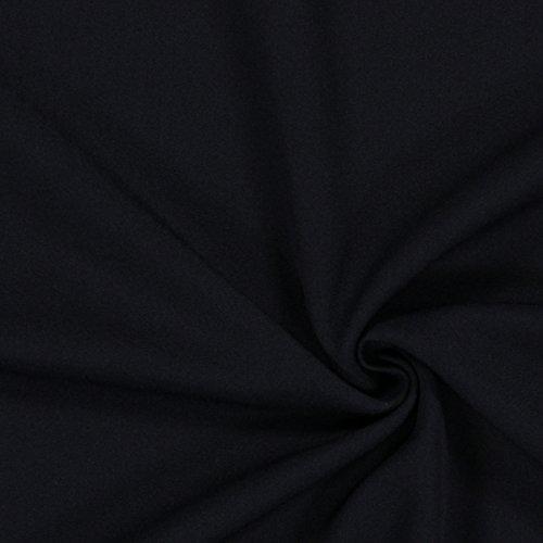 Bi Stretch Gabardine – navy — Meterware ab 0,5 m — zum Nähen von Businesskleidung, Hosen und Röcken (Navy Gabardine)
