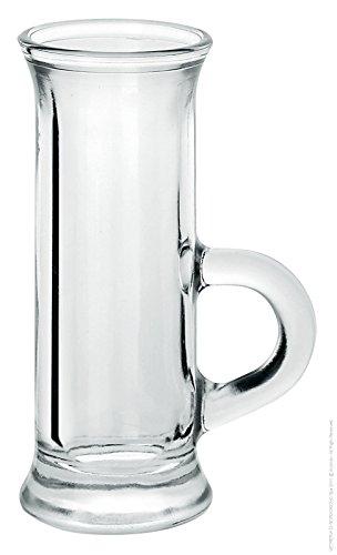6 Pz Bicchieri Tazzine Vodka Amaro Liquore Polo Ce6/72 4,5 Cl Borgonovo