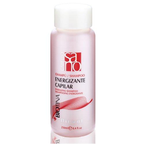 Energizing anti pérdida de cabello Champú Tratamiento con biotina (vitamina B7) & dynagen