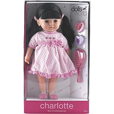Muñeca Charlotte Morena 36 cm.