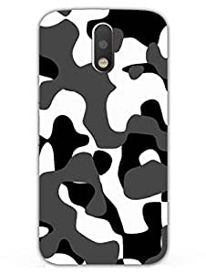 MADANYU Camouflage Indian Army Uniform Designer Printed Hard Back Shell Case For Moto G4/ Moto G4 Plus