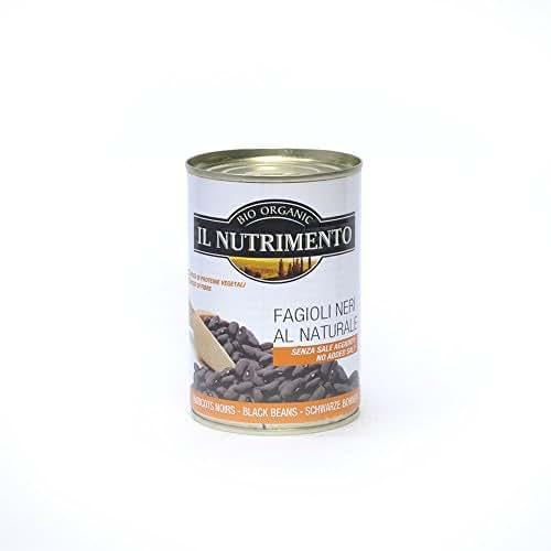 Haricots noirs au naturel 400g