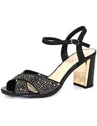 7c8e0eeb1 Lunar Flo Gemstone Cross Strap Sandal
