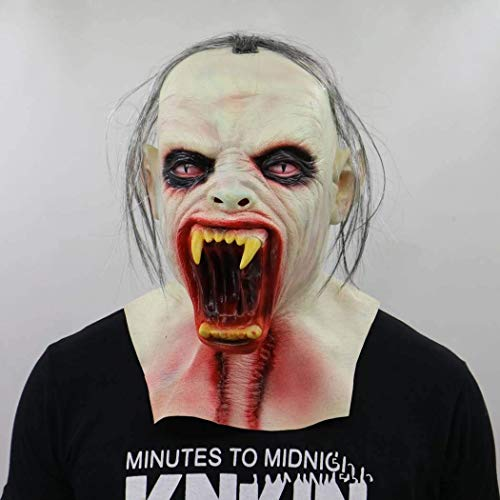 Gruselige Halloween Party Cosplay Maske Vampir Dämon Zombie Maske Erwachsene Halloween Neuheit Gruselige Kostüm Masken Theater Prop