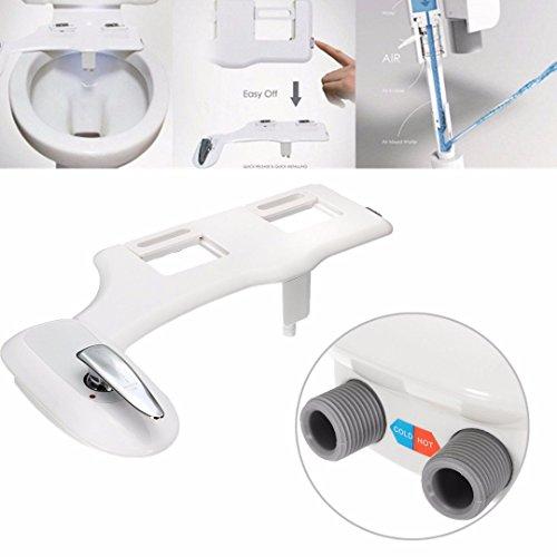 Wc-system (Dusch-WC | Miuwa Refresh | WC-Dusche | Po Dusche | Bidet 400 | Intimpflege | Taharet | Neues Design | Warmwasserfunktion | hochwertige Verarbeitung | Klick-System | WC Dusche | Funktion ohne Strom)