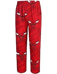 "Chicago Bulls NBA ""Jump Shot"" Men's Micro Fleece Pajama Pants"