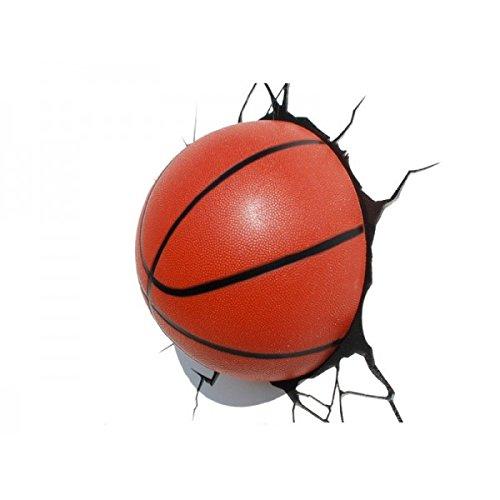 14201 3D Luce Deco - lampada decorativa LED 3D sfera disegno di pallacanestro