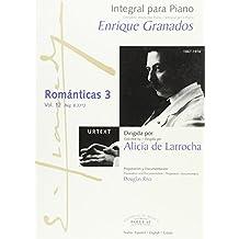 Integral para piano Enrique Granados: Románticas 3: 12