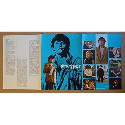 Dossier de presse de L'étrangleur (1972) – Film de Paul Vecchiali avec J Perrin, J Guiomar, E Simonet, P Barge – Photos N&B + couleurs – résumé – Bon état.