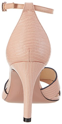 Oxitaly Safiana 113, Sandales  Bout ouvert femme Pink (Rosa)
