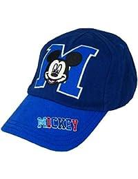 f92662ca751 Baby Boys Disney Mickey Mouse Sun Cap Baseball Cap   Sun Hat 0-6 Months